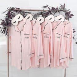 Unique Personalized Bridesmaid Gifts - Bridesmaid Pajamas