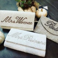 Unique Personalized Bridesmaid Gifts - Customized bag
