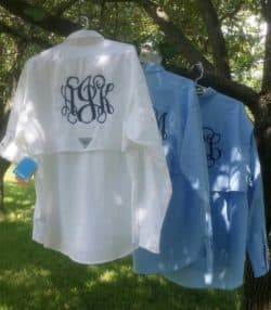 Unique Personalized Bridesmaid Gifts - FISHING SHIRTS