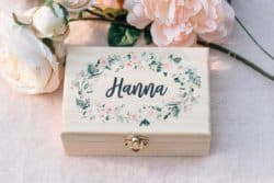 Unique Personalized Bridesmaid Gifts - Flower Girl Gift Box