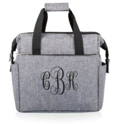 Unique Personalized Bridesmaid Gifts - On The Go Expandable Lunch Cooler