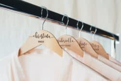 Unique Personalized Bridesmaid Gifts - Personalized Bridesmaid Hangers