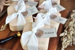 Unique Personalized Bridesmaid Gifts - Travel Jewelry Case Bridesmaid
