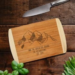 best personalized bridal shower gifts - Cutting Board