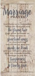 best personalized bridal shower gifts - Marriage Prayer Wood Plaque