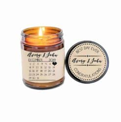best personalized bridal shower gifts - Save the Date Calendar
