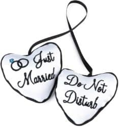 Do Not Disturb Honeymoon Gift Door Knob Sign