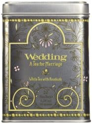Harney & Sons Caffeinated Wedding White Tea With Rosebuds and Petals Tin