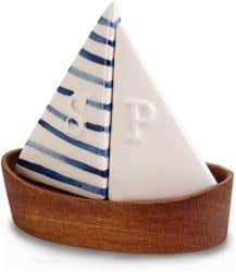 Nautical Sailboat Salt and Pepper Shaker Set