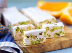 Orange Blossom Pistachio Nougat - Gourmet Food Gift