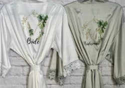 cheap personalized bridal shower gifts - Bridal Robe