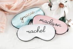 cheap personalized bridal shower gifts - Sleep Masks