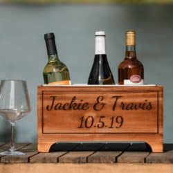 cheap personalized bridal shower gifts - Wine Cooler