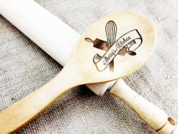 cheap personalized bridal shower gifts - Wooden Spoon