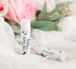 personalized bridal shower favors - Chapstick with Personalized Labels