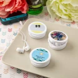 personalized bridal shower favors - Personalized Ear Buds