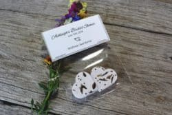 personalized bridal shower favors - Wildflower Seed Bomb Favors