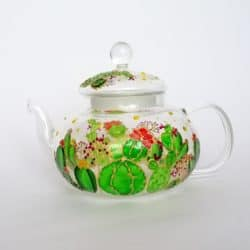 unique personalized bridal shower gifts - Personalised tea pot with infuser