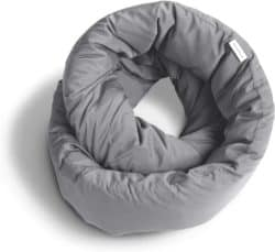 gray Infinity Pillow