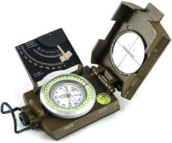 Navigation Compass with Inclinometer