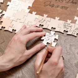 Guest Book Puzzle Sign Jigsaw Puzzle