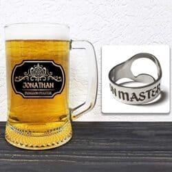 Personalized Beer Mug Glass