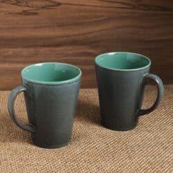 Pottery Glazed Coffee Mugs