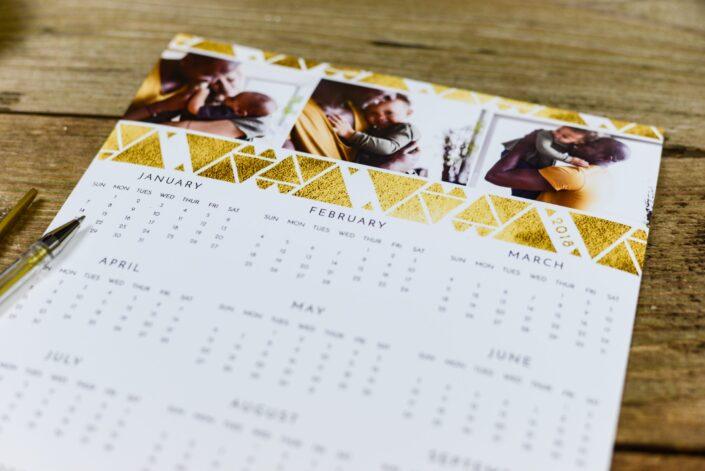 A cute calendar.