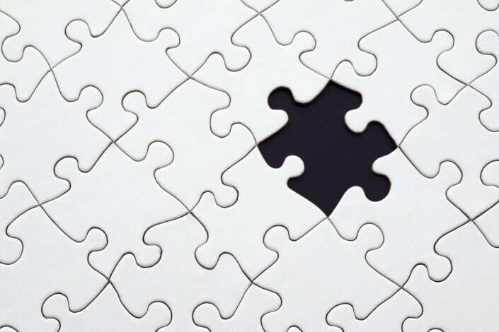 """A """"black and white"""" puzzle."""