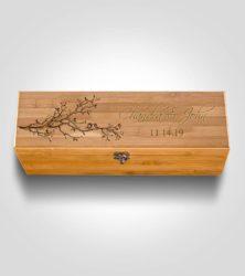 20th anniversary gifts for husband - Anniversary Wine Box