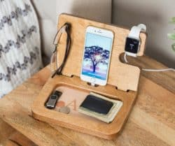 20th anniversary gifts for husband - Docking station