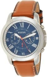 20th anniversary gifts for husband - Fossil Men's Grant Quartz Watch