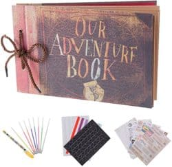 20th anniversary gifts - Our adventure book