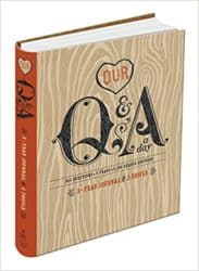Birthday gifts for husband - Our Q&A a Day: 3-Year Journal for 2 People