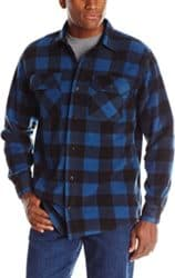 Birthday gifts for husband - Plaid Fleece Shirt