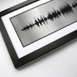 Birthday gifts for husband - Song sound wave
