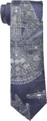 Birthday gifts for husband - Star Wars Men's Millennium Falcon Tie