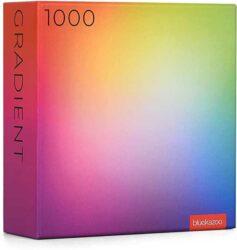 Large Rectangle Color Gradient Puzzle