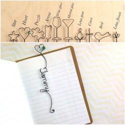 Personalized Wire Bookmark (1)