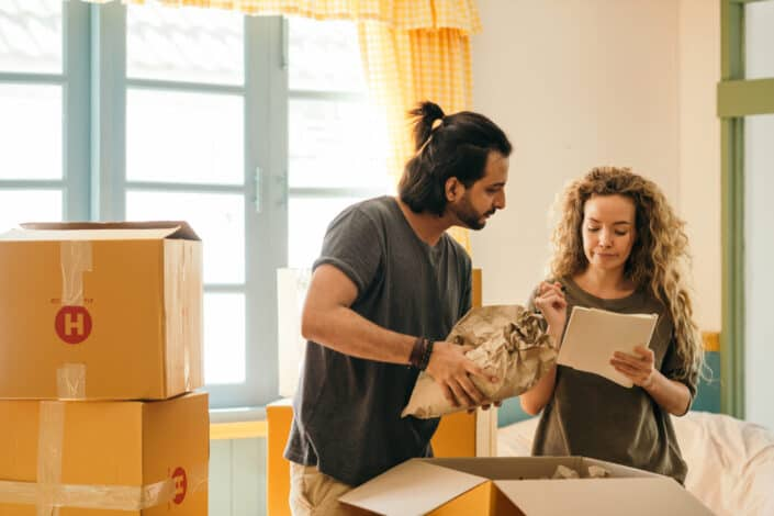 Couple checking list for stuff to pack.