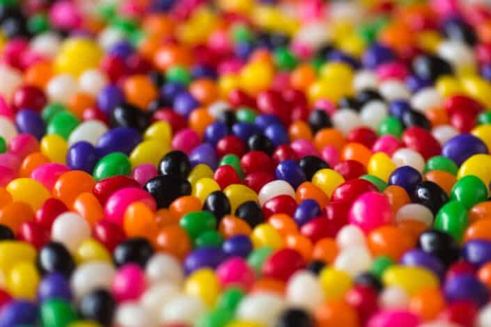 A pool of candies.